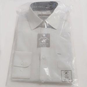Slim Fit Light Grey Dress Shirt 🤵